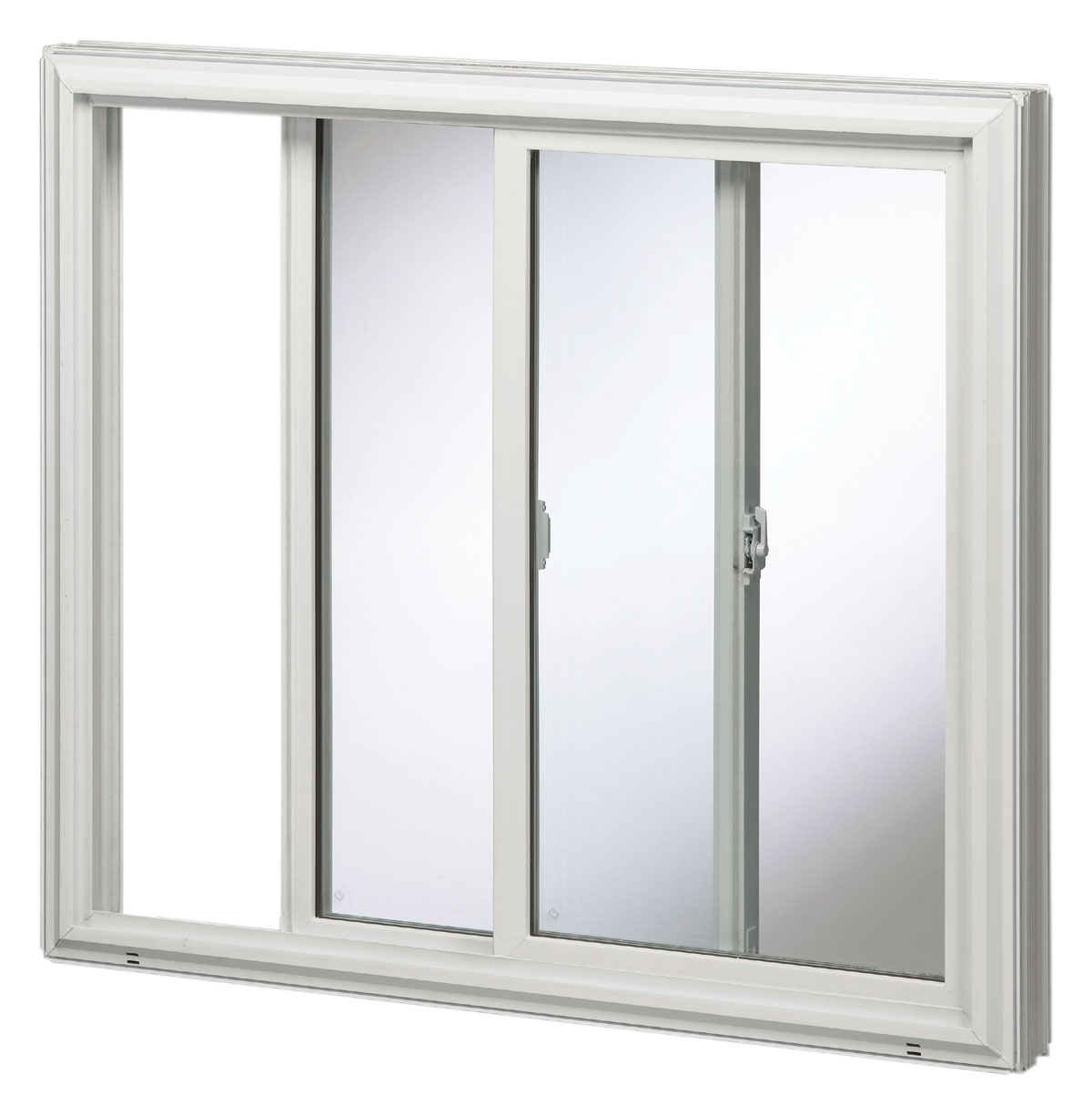 Goldenvinyl 5000 series double slider window golden windows for Sliding glass windows